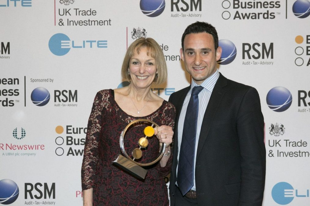 Bus firm scoops business award at gala event