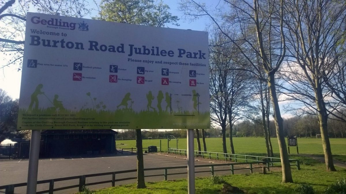 National recognition for parks in Gedling