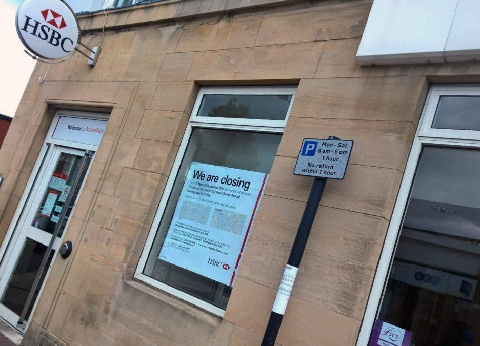 Photo of HSBC to shut Netherfield branch