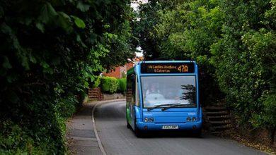 Photo of Bus service returns for Calverton Moor Lane residents