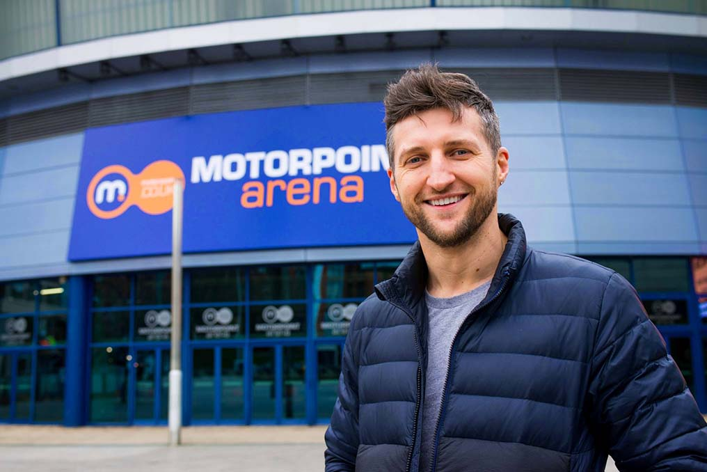 Gedling borough boxing legend Carl Froch opens new Motorpoint Arena