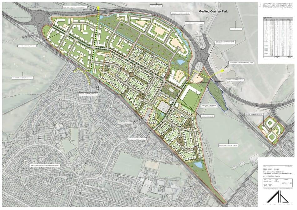 PLANS: The new estate being planned next to the country park