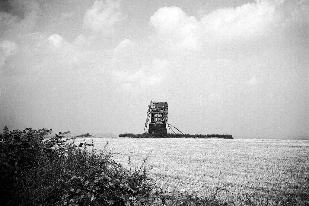 LOCATION UNKNOWN: a post windmill
