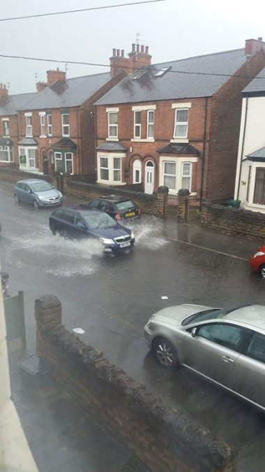 Chandos Street in Netherfield (Picture courtesy of Sam Hobson)