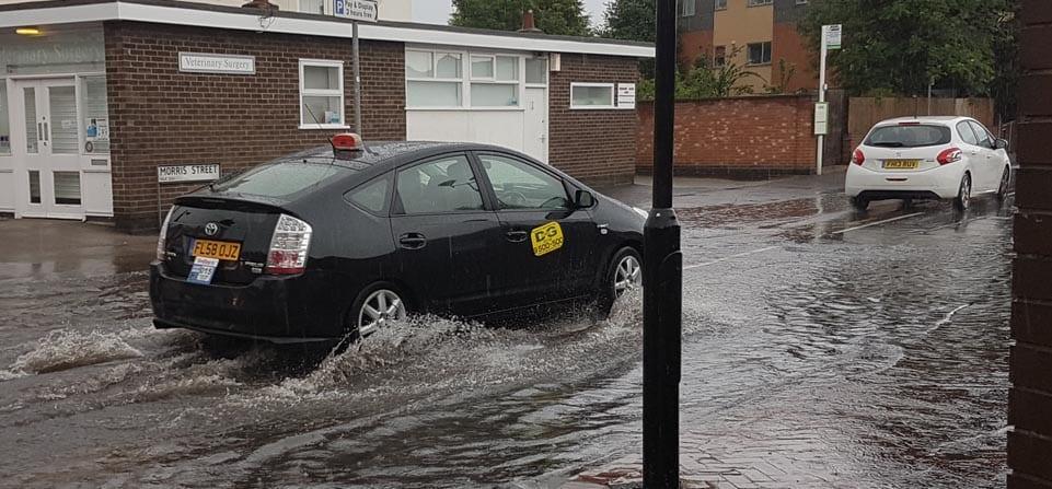 Photo of Flash flooding hits parts of Gedling borough…again!
