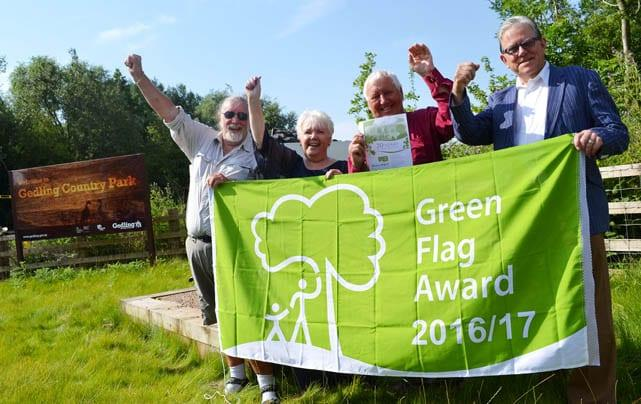 Help vote Gedling Country Park into UK top 10