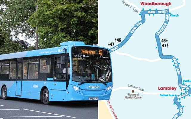 Villages to lose bus service as council cuts funding for Sky Blue 47