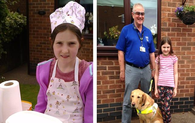 Young fundraiser from Arnold stirs up support for guide dog charity