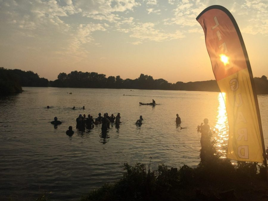 Photo of PIC OF THE WEEK: Open water swimmers in Colwick