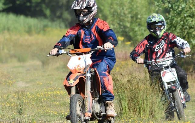 off-road bikers