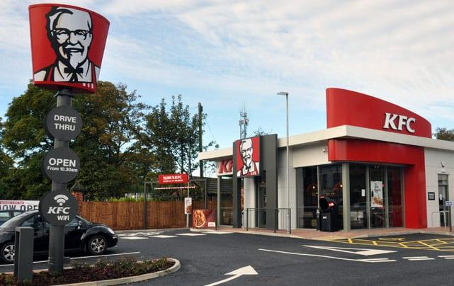KFC opens new drive-thru restaurant in Mapperley