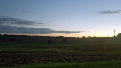 Photo of PIC OF THE WEEK: Sunset at George's Hill in Calverton