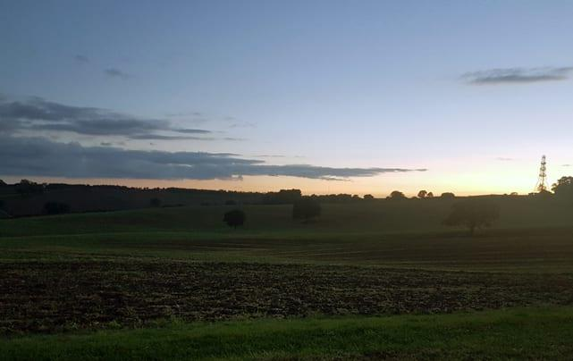 PIC OF THE WEEK: Sunset at George's Hill in Calverton