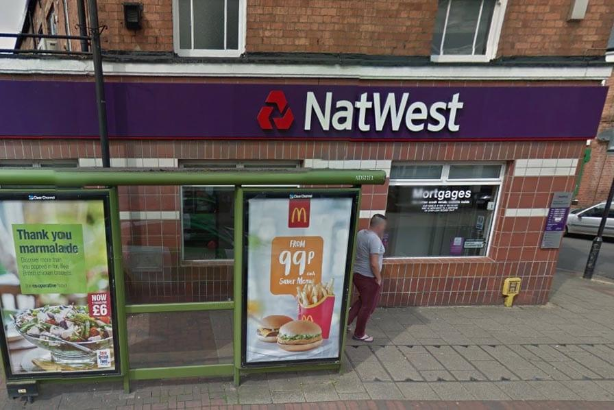 Police hunt male who targeted Netherfield branch of NatWest