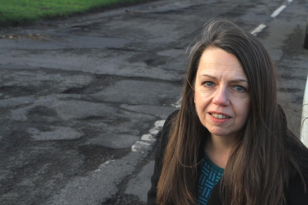 Councillor wins battle to get Burton Joyce road resurfaced