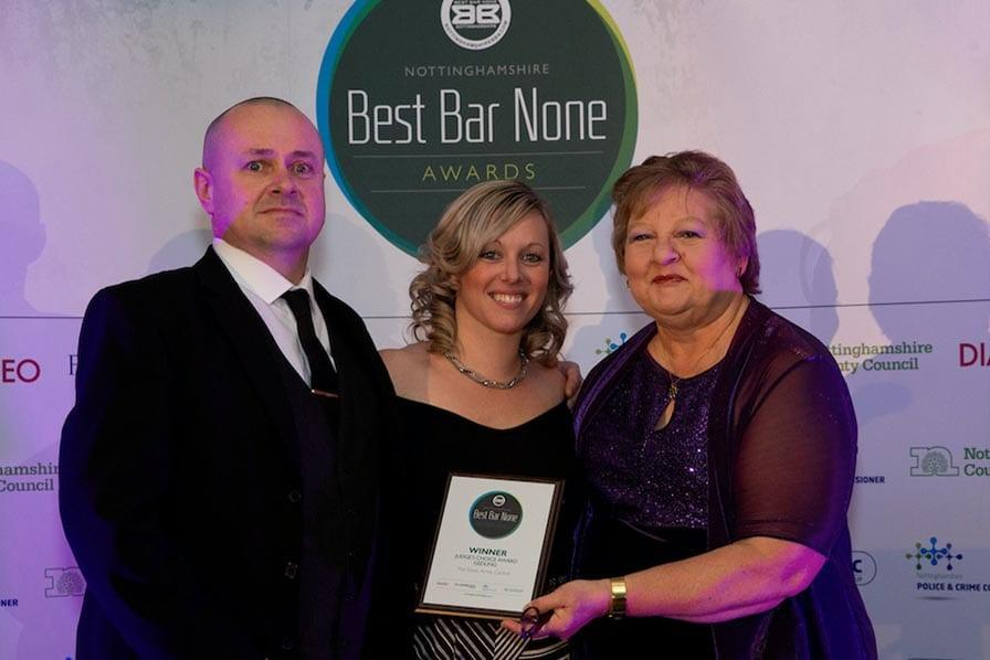 Photo of Elwes Arms in Carlton crowned as Gedling borough's Best Bar None winner
