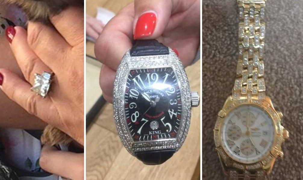 Have you seen any of this jewellery stolen during burglary in Lowdham?