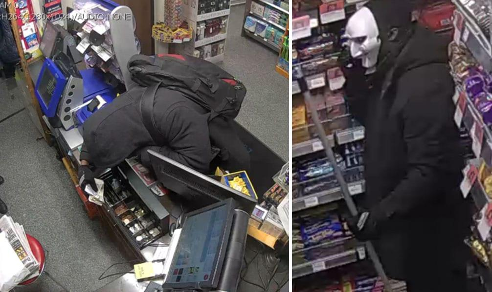 CCTV released in connection with robbery at Thorneywood petrol station
