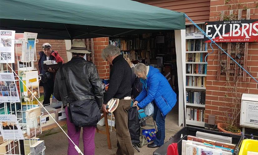 Charity booksale in Carlton raises over £2,000 for local good causes