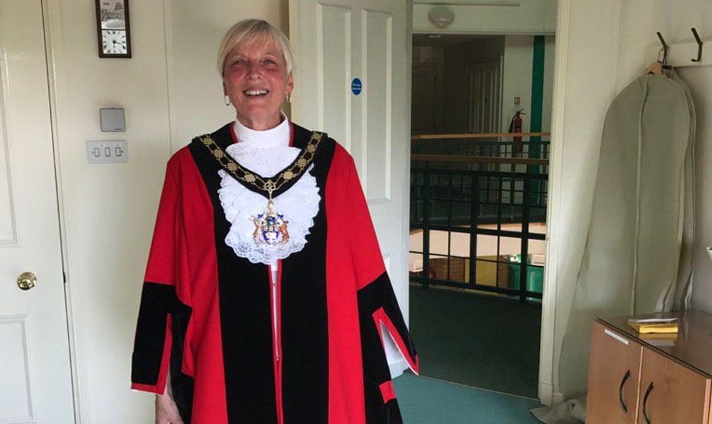 New mayor for Gedling borough
