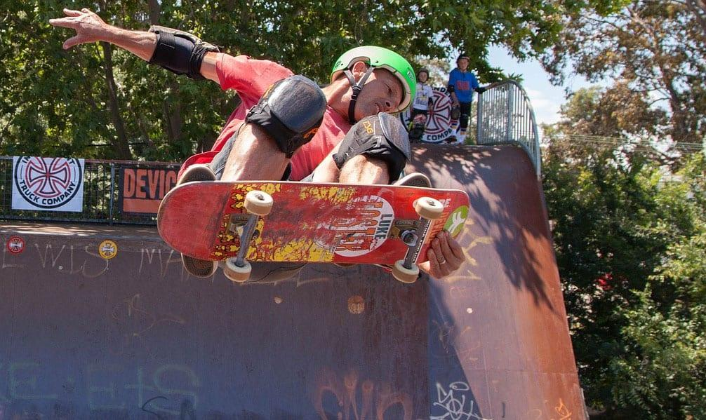 skate-boarding