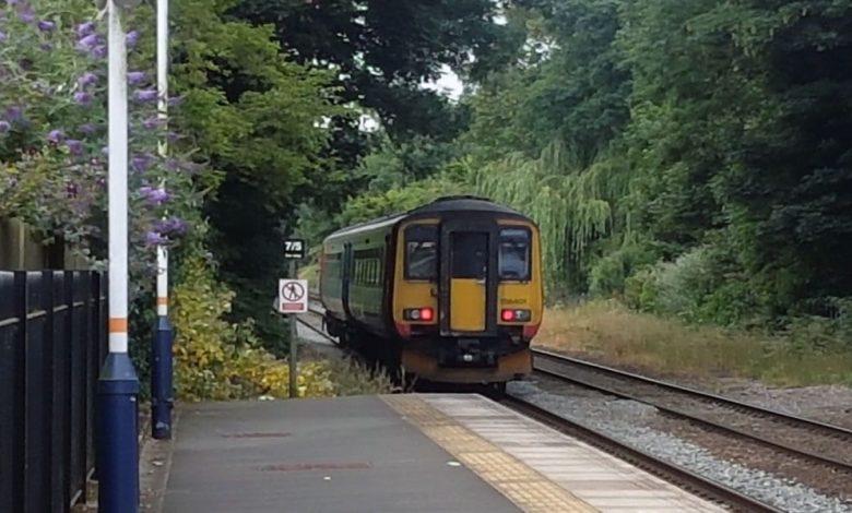 Train-suspended