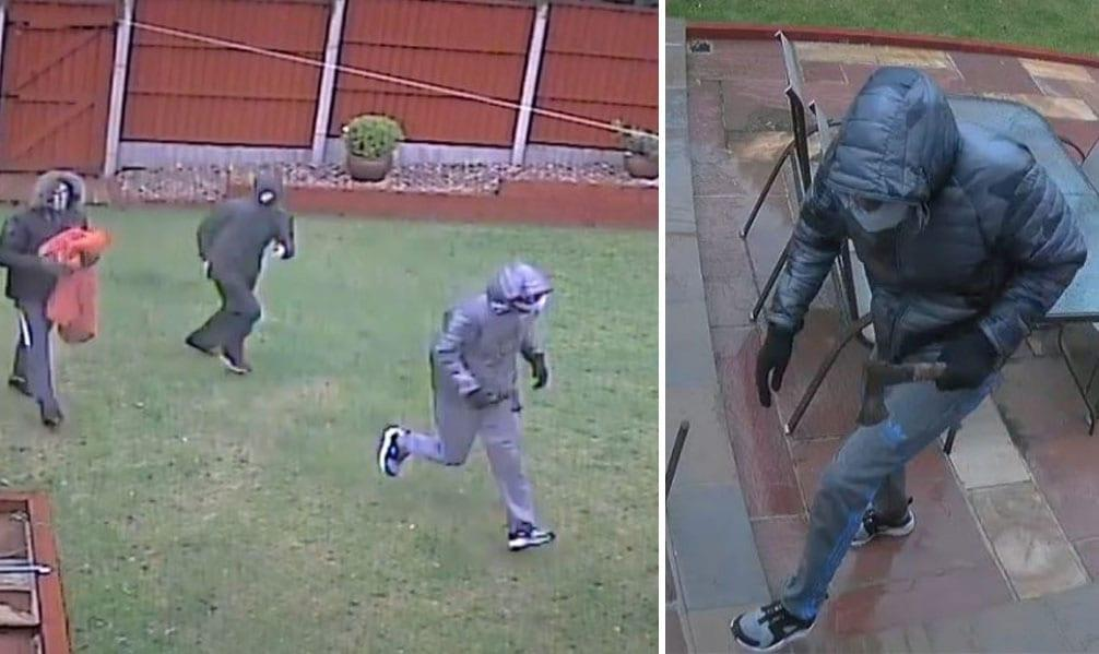 Photo of Police hunt men who 'smashed their way' into house in Gedling