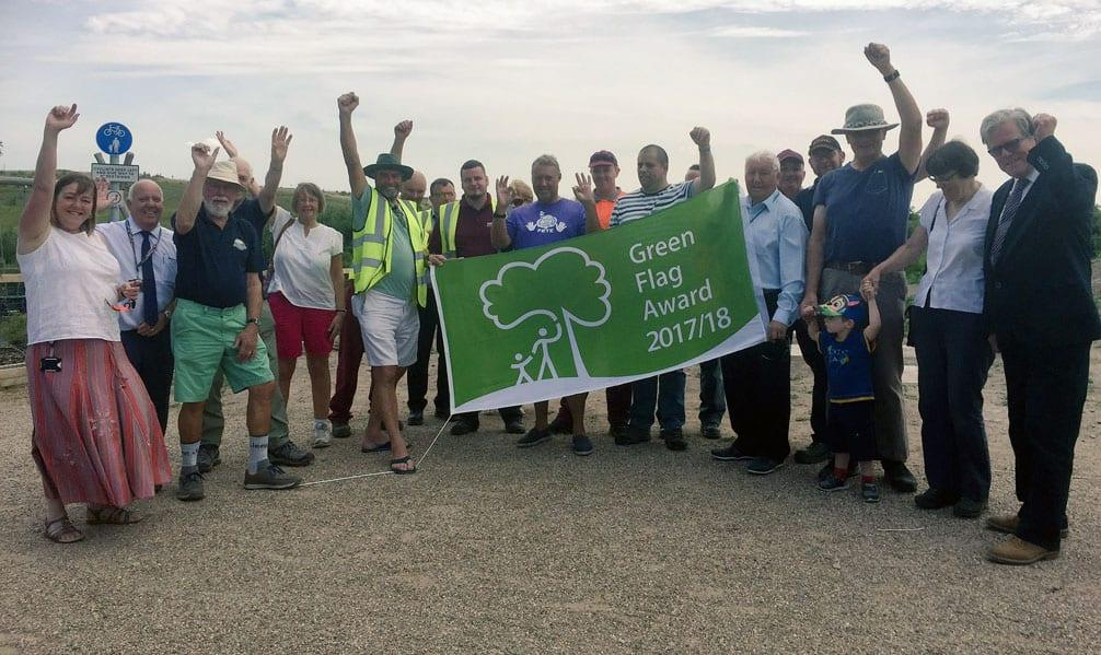 Gedling borough parks recognised in prestigious Green Flag awards