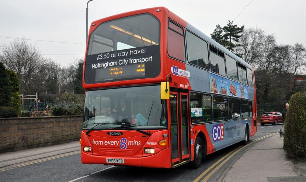 S44 Bus Time >> Council Announce Plans To Improve Gedling Borough Bus Network