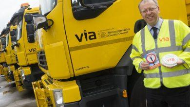 Photo of Firm looking after borough roads celebrate first year in business