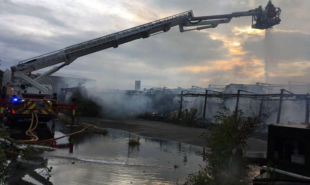 Demolition work to begin next month at Arnold blaze site