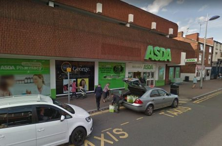 PICTURED: Asda's supermarket in Front Street