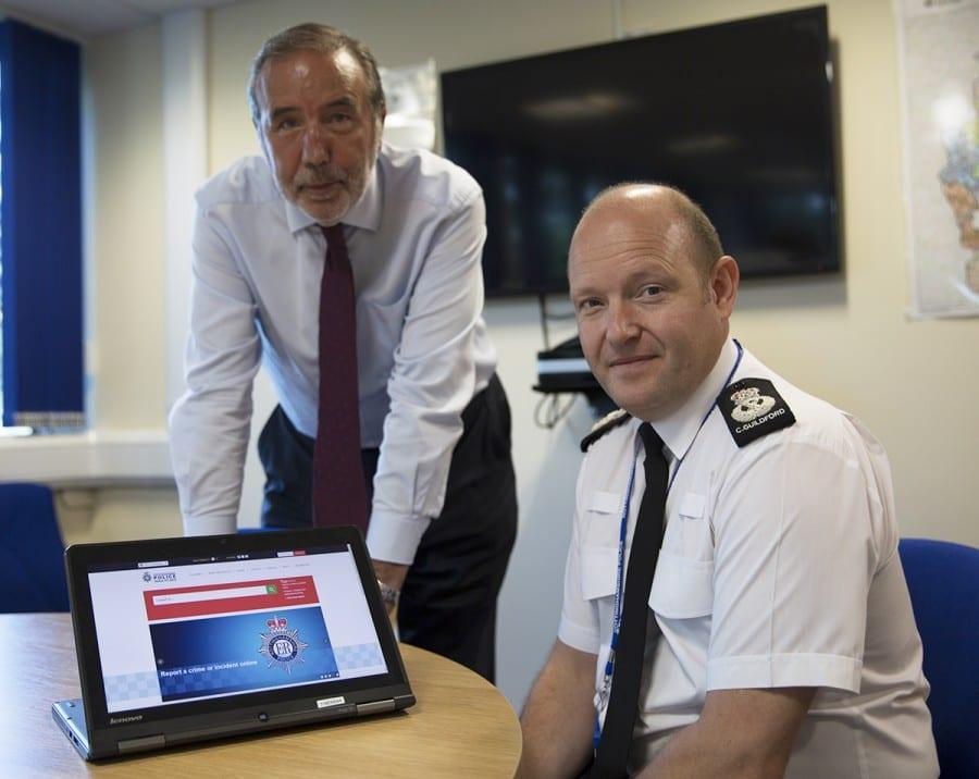 Photo of Report crime online using new police tool