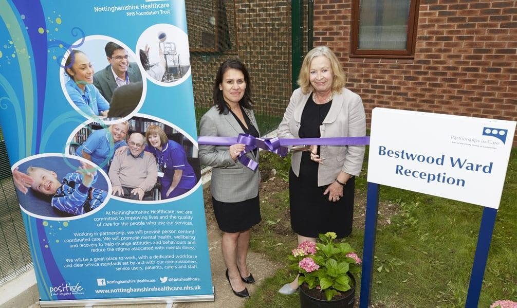Mental health trust opens new ward in Arnold