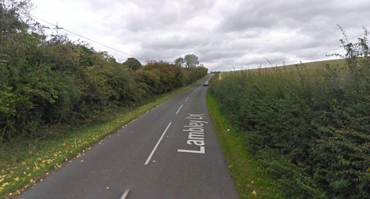 Witness appeal after woman threatened at farm in Gedling