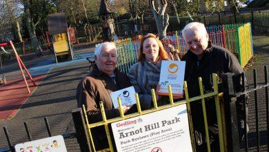 Photo of Arnot Park set for £124k revamp