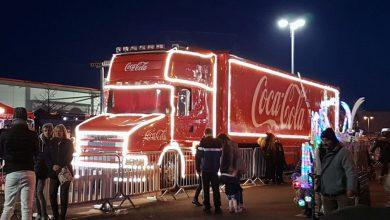 Photo of Huge crowds greet Coca-Cola truck in Netherfield