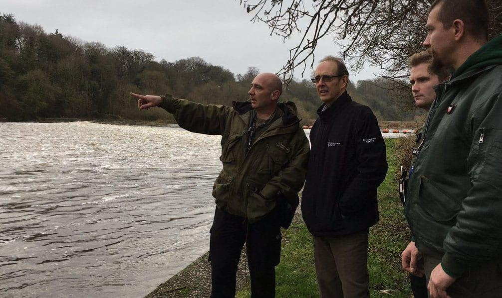 Environment Agency chief visits Stoke Bardolph and Colwick