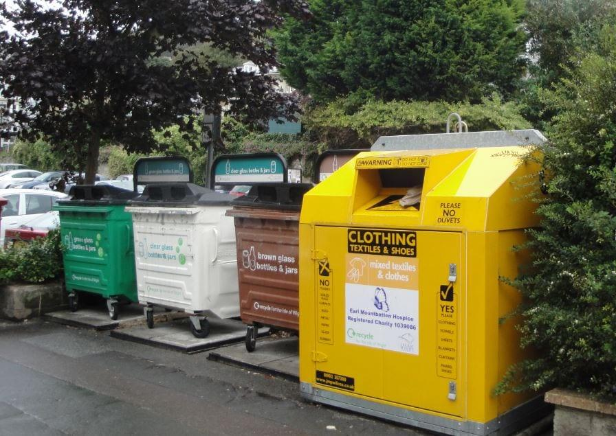 Council to carry out recycling point review after bin left overflowing