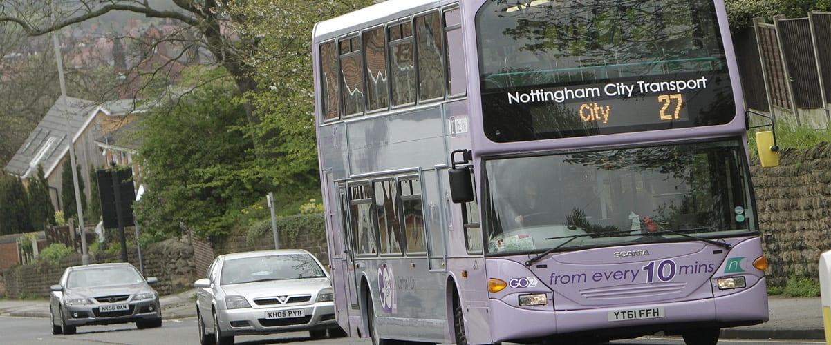 Photo of Greener buses to serve passengers on Bestwood and Carlton routes