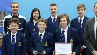 Photo of School in a spin after scooping national award at sporting event
