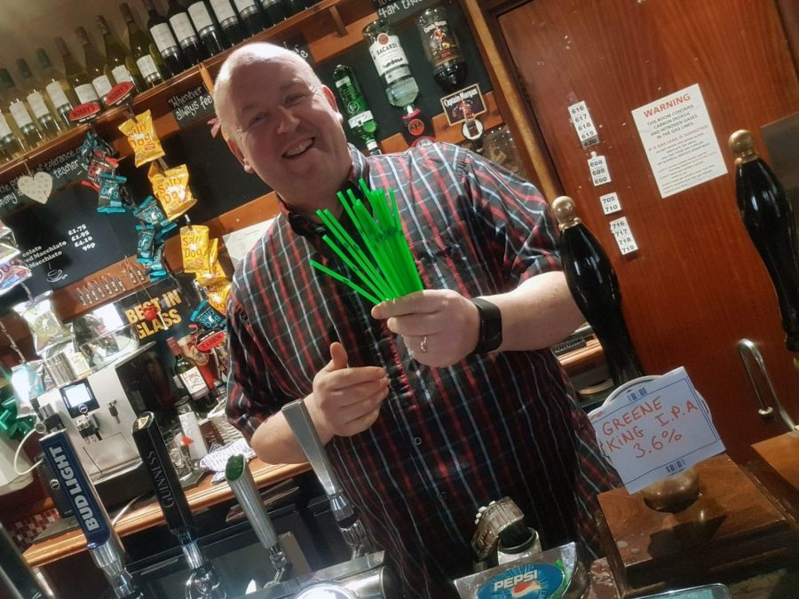 It's the final straw! Netherfield pub bans use of plastic straws from its drinks