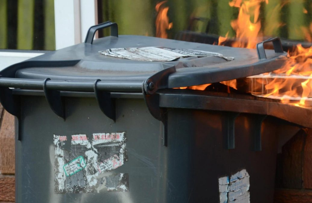 Police investigate spate of bin fires in Carlton and Gedling