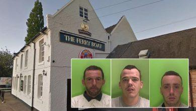 Photo of Three men jailed after knifepoint robbery at Stoke Bardolph pub