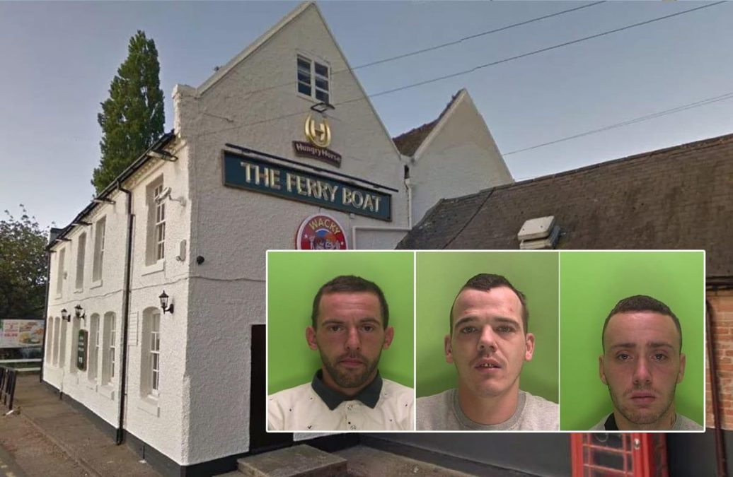 Three men jailed after knifepoint robbery at Stoke Bardolph pub