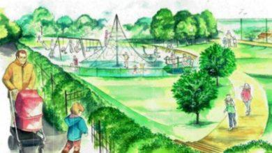 Photo of Play area plans revealed for Mapperley park which was saved from developers