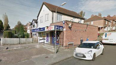 Photo of Carlton shop worker threatened by masked men with machete during robbery