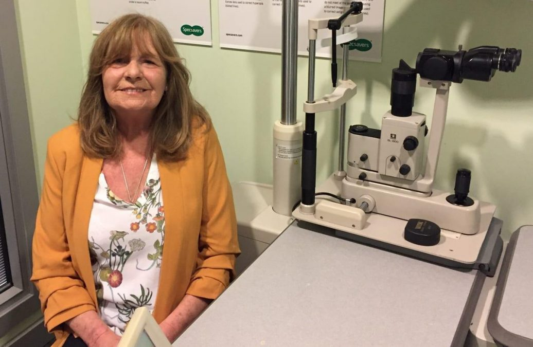 'Husband's hearing aid appointment saved my sight', says Arnold woman