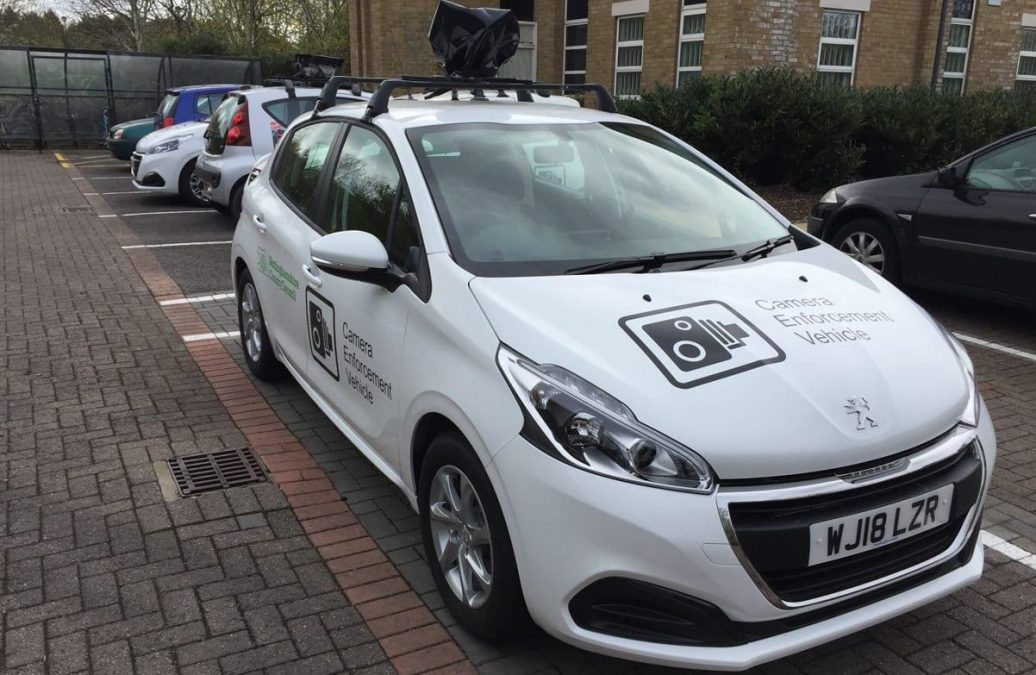 Photo of Camera crackdown on dangerous parking outside Gedling borough schools