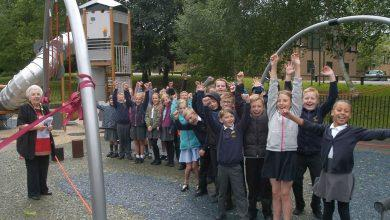 Photo of New mayor opens £124k revamped play area in Arnot Hill Park